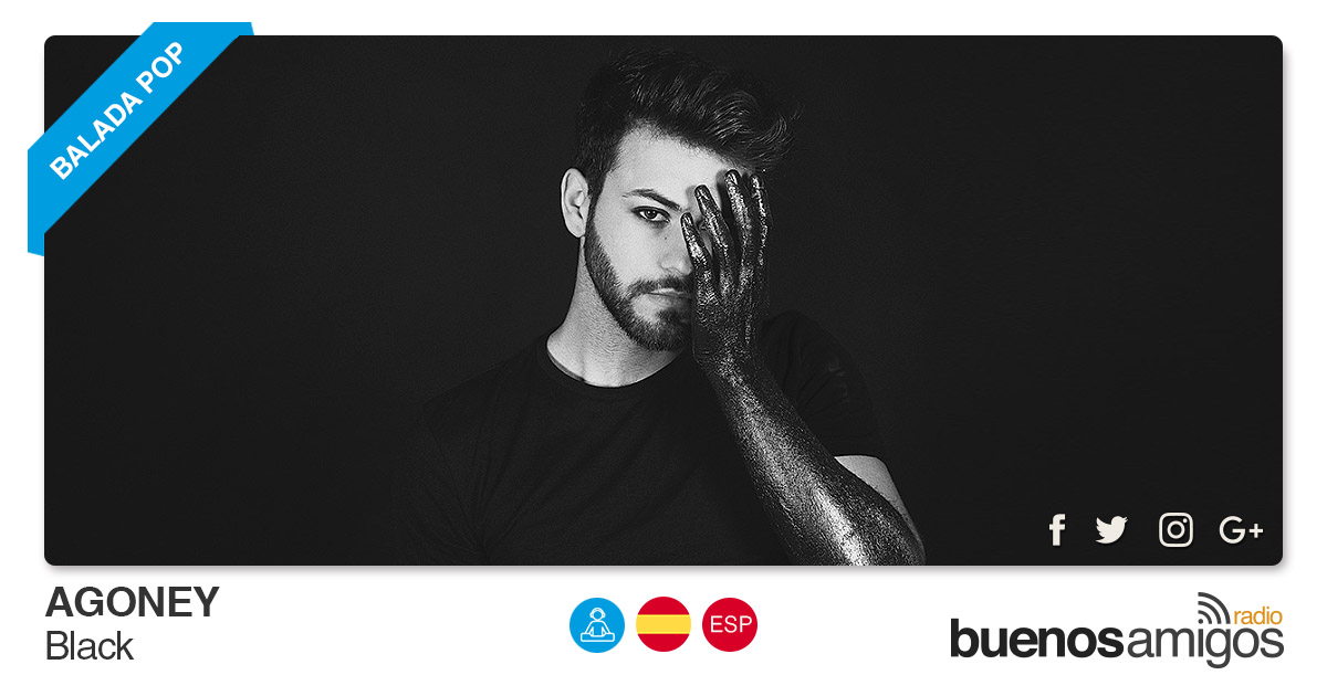Buenos Amigos Radio Agoney - Black