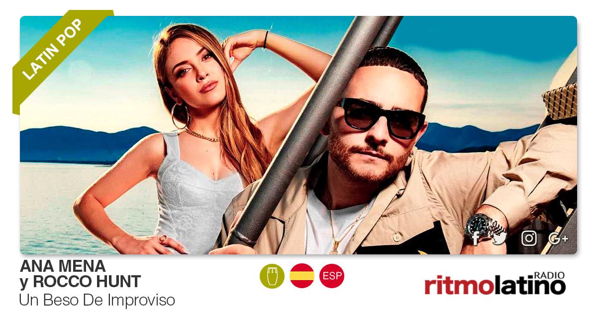 Buenos Amigos Radio Ana Mena y Rocco Hunt - Un Beso De Improviso