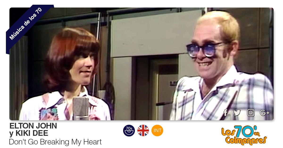 Buenos Amigos Radio Elton John y Kiki Dee - Don't Go Breaking My Heart