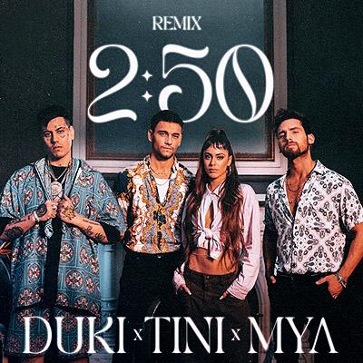 BAR MYA, TINI y Duki - 250 Remix 400x400