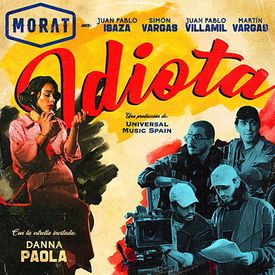 BAR Morat y Danna Paola - Idiota 400x400