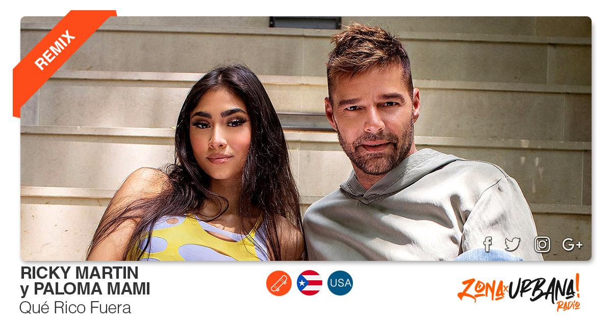 Buenos Amigos Radio Ricky Martin y Paloma Mami - Qué Rico Fuera