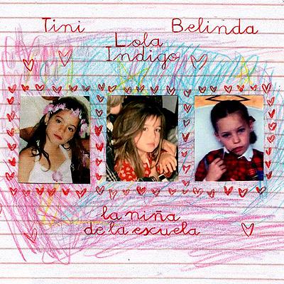 BAR Lola Indigo, TINI y Belinda - Niña De La Escuela 400x400