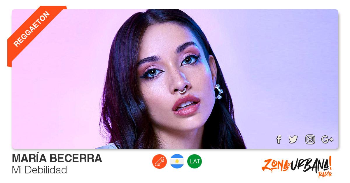 Buenos Amigos Radio María Becerra - Mi Debilidad