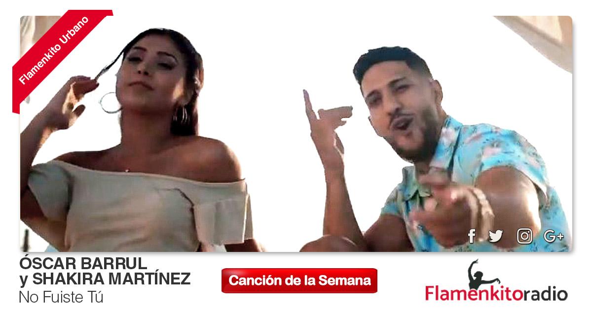 Buenos Amigos Radio Óscar Barrul y Shakira Martínez – No Fuiste Tú