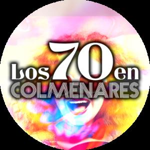 Logo Los 70 en Colmenares 480x480